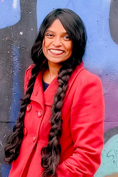 portrait photo of Geetha Van den Daele
